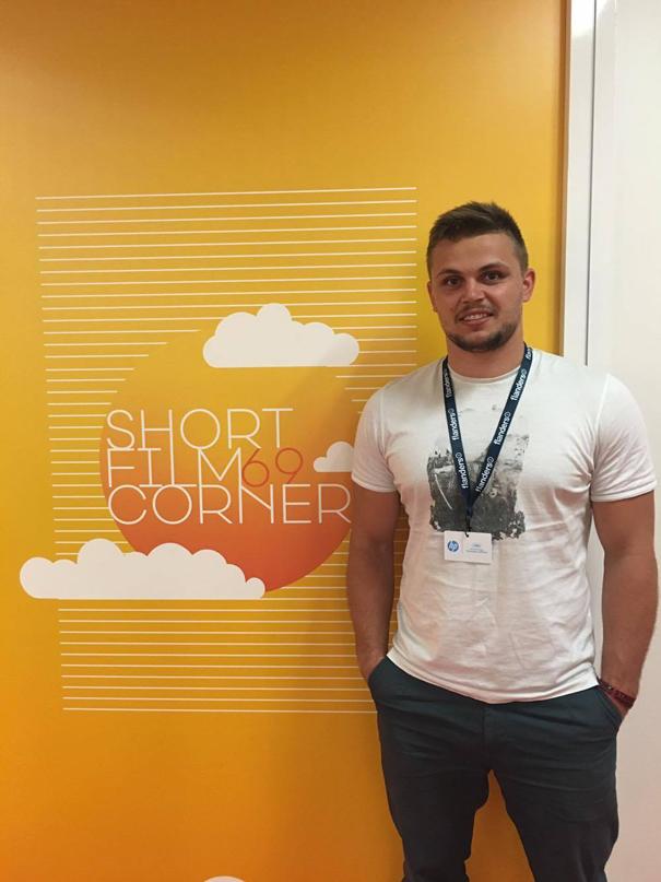Producer Alexander Kenanov in Cannes